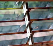 Fotografia do fundo do objeto das janelas de ventilação Imagens de Stock Royalty Free