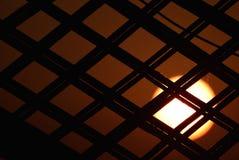 Fotografia do fundo do por do sol Fotografia de Stock Royalty Free