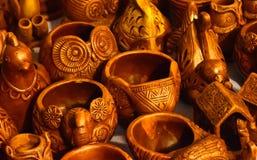 Fotografia do fundo dos exemplos dos artesanatos Imagem de Stock