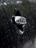 Fotografia do fundo do objeto do botão de porta dos carros foto de stock royalty free