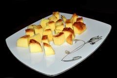 Fotografia doce da sobremesa dos pudins Imagens de Stock Royalty Free