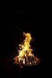 Fotografia duży ognisko Zdjęcie Royalty Free