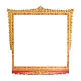 Pagina di arte antica tailandese Immagini Stock Libere da Diritti