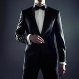 Elegancki mężczyzna Obrazy Royalty Free