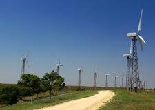 fotografia generatorowy wiatr obraz stock