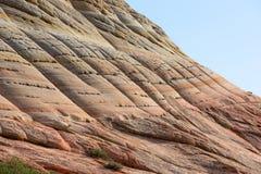 Fotografia horizontal da montanha do tabuleiro de damas Imagem de Stock