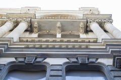 Fotografia inferiore della struttura architettonica storica immagini stock libere da diritti