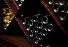 Fotografia istantanea della cantina per vini. Fotografie Stock Libere da Diritti