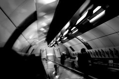 Fotografia istantanea sotterranea di Londra