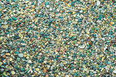 Fotografia jest mnóstwo kolorów dennymi kamieniami zdjęcia royalty free