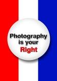Fotografia jest twój dobrem ilustracja wektor
