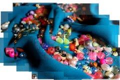 Fotografia koraliki Zdjęcia Stock