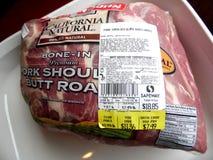Fotografia mięso na sprzedaży obraz royalty free