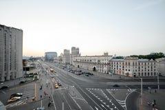 Fotografia miasto od wzrosta Obrazy Royalty Free