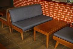 Fotografia moderna della sedia e della tavola Fotografia Stock