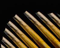 Fotografia natural do fundo do objeto da palha Fotografia de Stock
