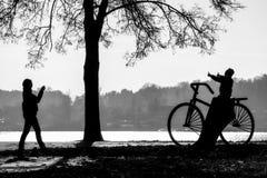 Fotografia nel giorno di autunno Fotografia Stock