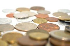 Fotografia ogromna liczba monety różni stany Obraz Royalty Free