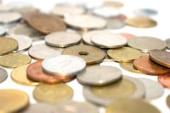 Fotografia ogromna liczba monety różni stany Fotografia Royalty Free