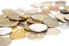 Fotografia ogromna liczba monety różni stany Fotografia Stock