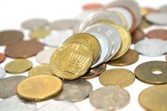 Fotografia ogromna liczba monety różni stany Zdjęcia Stock