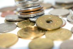 Fotografia ogromna liczba monety różni stany Obrazy Stock