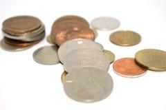 Fotografia ogromna liczba monety różni stany Zdjęcie Royalty Free