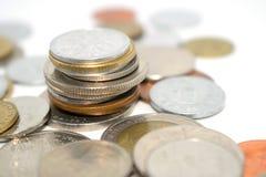 Fotografia ogromna liczba monety różni stany Obraz Stock