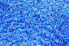 Fotografia pływackiego basenu wody tło Fotografia Stock