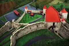 Fotografia piękny Rupea forteca w Rumunia zdjęcia stock