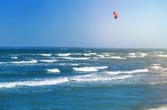 Fotografia piękny morze z fala Zdjęcia Royalty Free
