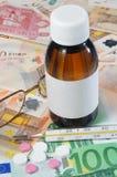 Opieka zdrowotna koszty Fotografia Stock