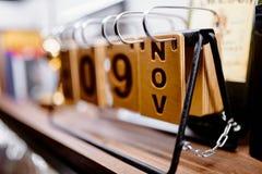 Fotografia projektanta kalendarz Fotografia Stock