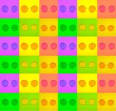 Fotografia różnorodność jaskrawego round modni szkła w zieleni, kolor żółty, purpura kwadrata ramy obraz stock
