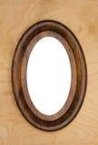 fotografia ramowy owalny rocznik Obraz Stock