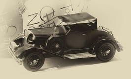 Fotografia retro samochody obraz royalty free