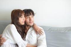 Fotografia romântica do casamento dos pares imagem de stock