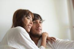 Fotografia romântica do casamento dos pares fotografia de stock