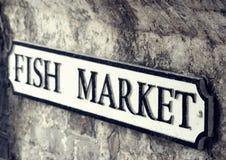 Rybi rynek Zdjęcia Stock