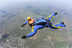 fotografia skydiving Obraz Stock