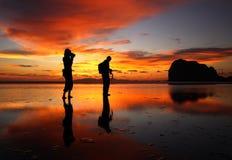 Fotografia sulla spiaggia fotografia stock libera da diritti