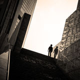 Fotografia Tokyo della via Immagini Stock