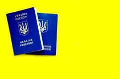 Fotografia ukraiński paszport zdjęcia stock