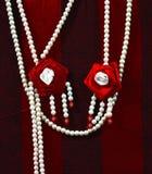 Fotografia vermelha & branca do objeto Imagens de Stock Royalty Free