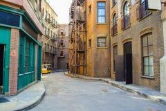 Fotografia Warner Bros Pracowniana wycieczka turysyczna Hollywood, Outside widoki Warner braci studiów budynki Fotografia Royalty Free