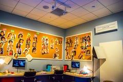 Fotografia Warner Bros wśrodku widoków Pracowniana wycieczka turysyczna Hollywood, VIP wycieczka turysyczna ustawia lego miasta f Zdjęcia Royalty Free