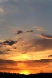 Fotografia zmierzchu niebo Zdjęcia Stock