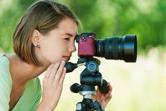 Fotografias da mulher nova imagens de stock royalty free