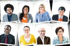 Fotografias do grupo de pessoas diverso foto de stock royalty free