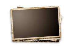 Fotografias velhas em branco Fotografia de Stock